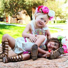 These Two-Year-Old Girls Rock This Summer: Everleigh Soutas and Ava Foley Beautiful Little Girls, Cute Little Girls, Cute Kids, Sweet Girls, Savannah Soutas, Cole And Savannah, Little Girl Models, Little Girl Outfits, Kid Outfits