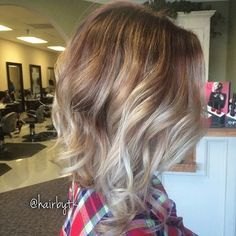 25 Trendy Bob Hairstyles that are easy to maintain and stylish to go with - Vogueitude Bob Haircuts For Women, Long Bob Haircuts, New Haircuts, Bob Hairstyles, Balayage Bob, Blonde Angled Bob, Inverted Bob, Blonde Lowlights, Up Girl