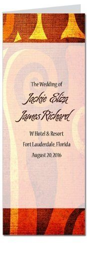130 Wedding Programs - Caribbean Cool by WeddingPaperMasters.com. $193.70. Now you can have it all! We have created, at incredible prices & outstanding quality, more than 300 gorgeous collections consisting of over 6000 beautiful pieces that are perfectly coordinated together to capture your vision without compromise. No more mixing and matching or having to compromise your look. We can provide you with one piece or an entire collection in a one stop shopping experienc...
