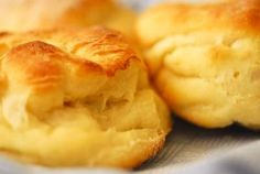 This is a recipe for Shortening-less biscuits, I made them and they are delicious!