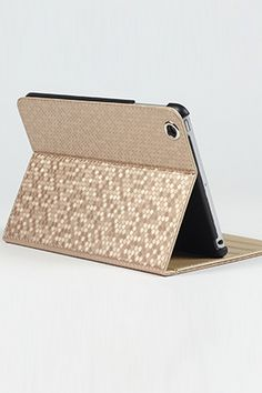 Diamond Pattern Ipad Mini Case - OASAP.com #ipad case #gold #accessories from now on - 25 % off sale