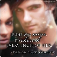 Quote from Obsidian, Daemon POV