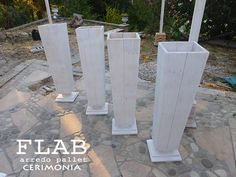 Pallet per Cerimonie - FLAB Arredo Pallet | Arredamento pallet per esterno