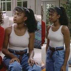 Brunch Outfit, Retro Outfits, Girl Outfits, Fashion Outfits, Black Girl Aesthetic, Aesthetic Fashion, Aesthetic Vintage, Ashley Banks Outfits, Prinz Von Bel Air