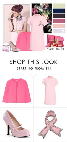 """""""I Wear Pink for..."""" by autumn-soul ❤ liked on Polyvore featuring Michael Kors, Chanel, Glamorous and IWearPinkFor"""