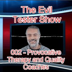I've just released the 2nd edition of The Evil Tester Show - covering Provocative Therapy the role of testers in modern software development and Quality Coaches  buff.ly/2zzTsQ2