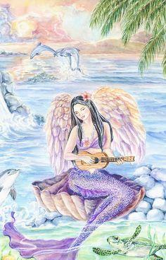 Hawaiian Mermaid, Pacific Mermaid