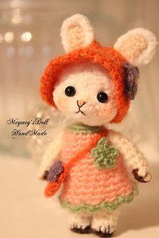 Amigurumi Rabbit Face : crochet - Escargot au crochet - chat au crochet - cache ...