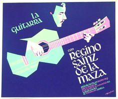Película Div. Ed. a la Comunidad: La Guitarra  con Regino Sainz de la Maza  por Rafael Tufiño