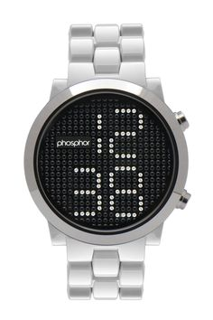 Appear Watch by Phosphor. I love this design.