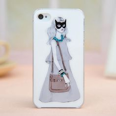 $16.99   Mask backpack female case for iphone 4/4s    simple and fashion  elegant and in good taste  Distinct personality