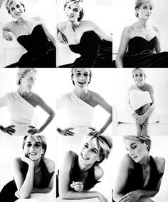 Diana, Princess of Wales. I love these photos.i believe she was at this point in her life.Photo shoot with Mario Testino for Vanity Fair, July 1997 Princess Diana Biography, Princess Diana Photos, Princess Of Wales, Mario Testino, Lady Diana Spencer, Princesa Diana, Kate Middleton, Mode Lookbook, Estilo Real