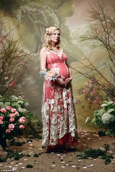 It's official! Kirsten Dunst confirmed her pregnancy in the Fall Winter 2018 portrait seri...
