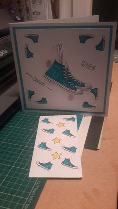 Boy Cards, Kids Cards, Kids Birthday Cards, Card Sketches, Teenagers, Card Ideas, Stamps, Card Making, Paper Crafts