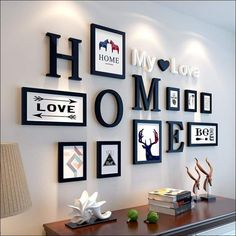 Home & Family 9PC Photo Frame Set