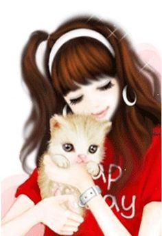 Find images and videos on We Heart It - the app to get lost in what you love. Cartoon Girl Images, Cute Cartoon Girl, Cartoon Art, Beautiful Girl Drawing, Cute Girl Drawing, Korean Illustration, Cute Illustration, Girly M, Lovely Girl Image