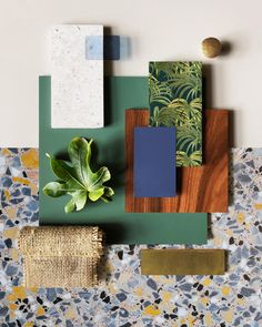 One more shoutout to and their brilliant design talents! Natural inspo with tropical and terrazzo elements -… One more shoutout to and their brilliant design talents! Natural inspo with tropical and terrazzo elements -… Interior Tropical, Terrazzo, Home Design, Moodboard Interior, Color Inspiration, Interior Inspiration, Estilo Tropical, Material Board, Interior Design Boards