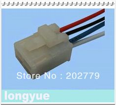longyue 10pcs universal air conditioning relay socket Adapter Distributor Wiring Harness 15cm wire