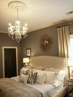 Master bedroom.  Neutral tones