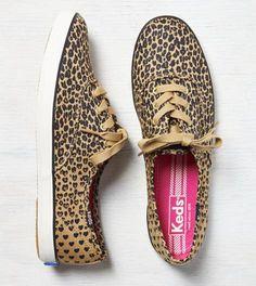 Leopard Keds Champion Leopard Heart Sneaker