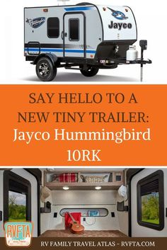 The latest entry into the tiny trailer lineup, the Jayco Hummingbird really grabbed our attention. So we talked to John Fisher, Senior Director of Product Developer for the lightweight trailers over at Jayco. Jayco Travel Trailers, Small Camper Trailers, Small Travel Trailers, Off Road Camper Trailer, Travel Trailer Camping, Small Trailer, Small Campers, Vintage Travel Trailers, Rv Campers