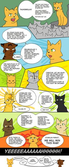 Battle Plans (You Are Cats) by TigerMoonCat.deviantart.com on @DeviantArt  LOL Oh so true