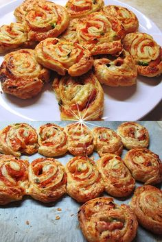 Cookbook Recipes, Pizza Recipes, Appetizer Recipes, Cooking Recipes, Pizza Tarts, Birthday Menu, Christmas Party Food, School Snacks, Appetisers