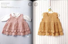 Done in 1 Week Gentle Crochet Clothes for Baby by pomadour24