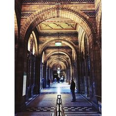 The beautiful archways of the Waterhouse building #naturalhistorymuseum by lilianariv on Instagram