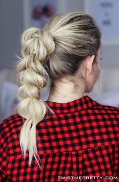 4 Hairstyles for Dirty Hair - Twist Me Pretty
