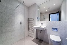Bathroom - mother of pearl - mosaic