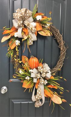 24 Fall Leaf/Cotton Wreath 2019 24 Fall Leaf/Cotton Wreath The post 24 Fall Leaf/Cotton Wreath 2019 appeared first on Cotton Diy. Thanksgiving Door Decorations, Fall Harvest Decorations, Thanksgiving Wreaths, Autumn Wreaths, Holiday Wreaths, Fall Decor, Fall Door Wreaths, Spring Wreaths, Summer Wreath