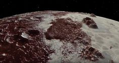 New Horizons' view of Pluto, as seen in a new NASA video released on July 14, 2017, the second anniversary of the probe's epic flyby of the dwarf planet. Credit: NASA / JHUAPL / SwRI/Paul Schenk and John Blackwell, Lunar and Planetary Institute