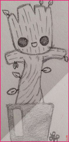 , Baby Groot gardians of the galaxy by Wolf Lyly not the original art galaxy gardi. , Baby Groot gardians of the galaxy by Wolf Lyly not the original art galaxy gardians groot not original art Baby Groot gardians of the galaxy . Cute Easy Drawings, Cool Art Drawings, Pencil Art Drawings, Art Drawings Sketches, Disney Drawings, Animal Drawings, Baby Groot Drawing, Gardians Of The Galaxy, Galaxy Painting