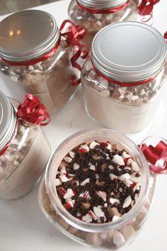 Peppermint hot cocoa mix!