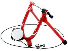 Minoura MagRide Bicycle Trainer with Remote Red -- Learn more by visiting the image link. This is an Amazon Affiliate links.
