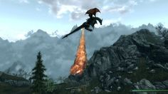 This Skyrim dragon, who clearly had too many jalapeños the night before. | 24 Video Game Characters Who Are Having A Way Worse Day Than You