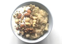 Here's a warm, yummy, soul-nourishing meal to start your day.  This delicious gluten-free, dairy-free, vegan and vegetarian friendly breakfast helps soothe your digestive woes.