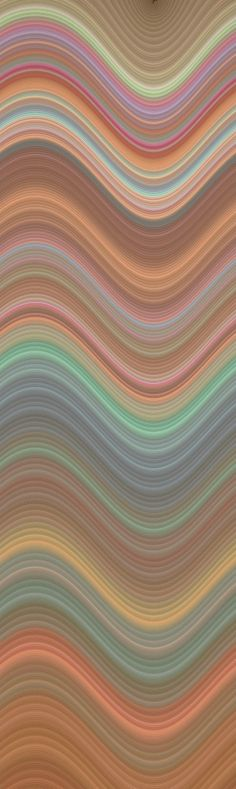 Sherbet Tile by Cinda LeBus