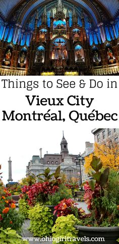 Montréal is a beautiful Canadian city, sure to impress. Check out this Montréal guide before your trip. It includes transportation in Montréal, places to stay in Montréal, food and drinks to try in Montréal, and things to see specifically in Vieux (Old) M Nova Scotia, British Columbia, Canadian Travel, Canadian Rockies, Visit Canada, Canada Eh, Canada Destinations, Travel Guides, Travel Tips