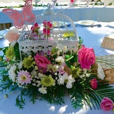 1000 Images About Jaulas Con Flores On Pinterest Birdcage Centerpieces Birdcages And