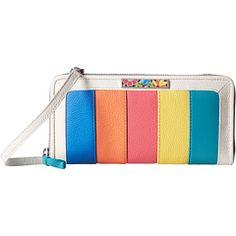 Brighton Suncatcher Color Block Zip Wallet