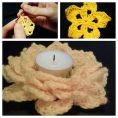 crochet candlestick