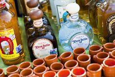 Como organizar una boda mexicana. Tequila bar