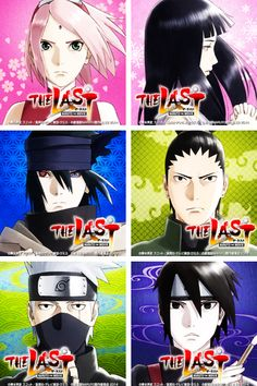 "Naruto ""The Last"". They look so good."