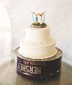 That cake topper!! Everything about this cake is just adorable.