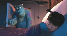 Sully checks in on Boo... Monsters Inc.