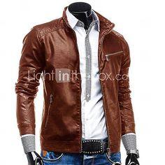 €49.58 http://www.lightinthebox.com/men-pu-outerwear-lined_p2892493.html