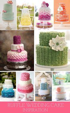 Cakes ruffles