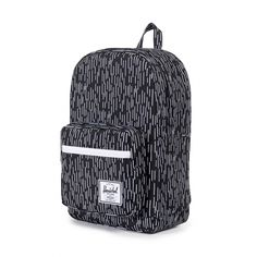 Herschel Supply Co. Herschel Supply Co, Black Backpack, Backpacks, Pop, Black And White, My Style, Accessories, Clothes, Products